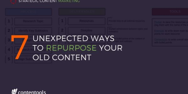 7 Unexpected Ways to Repurpose Your Old Content