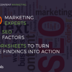 150 Marketing Experts, 90 SEO Factors, 5 Actionable Worksheets – With Sam Hurley