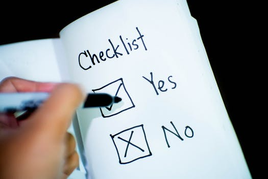 How to build efficient checklists for your marketing strategies
