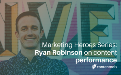 Content Marketing Heroes: Ryan Robinson shares his content performance secret
