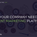[INFOGRAPHIC] Does your company need a Content Marketing Platform?