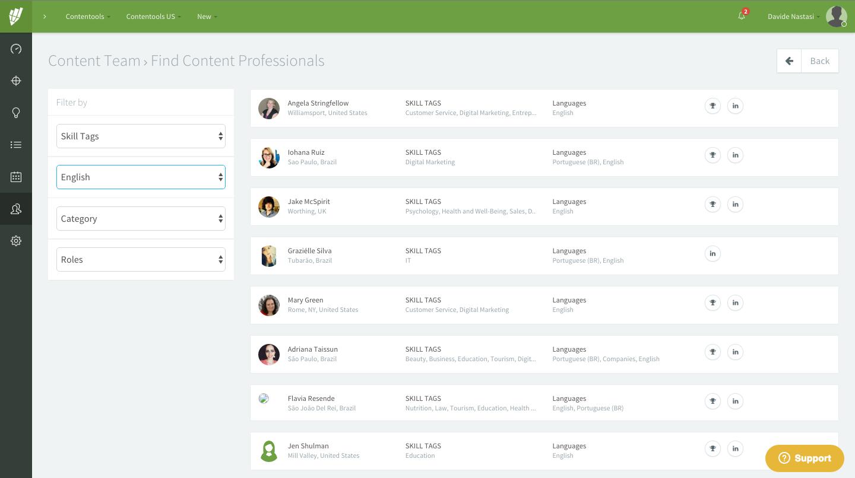 contentools hire content manager