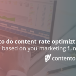 How to do conversion rate optimization based on you marketing funnel